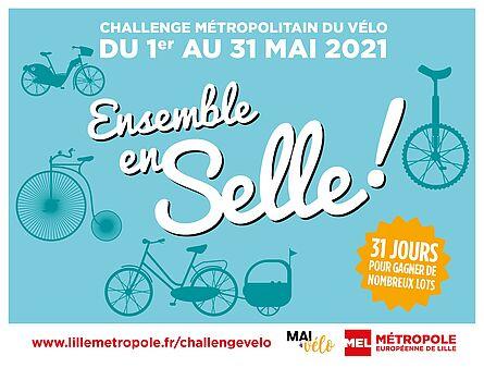 Challenge Métropolitain du Vélo du 1 au 31 mai 2021